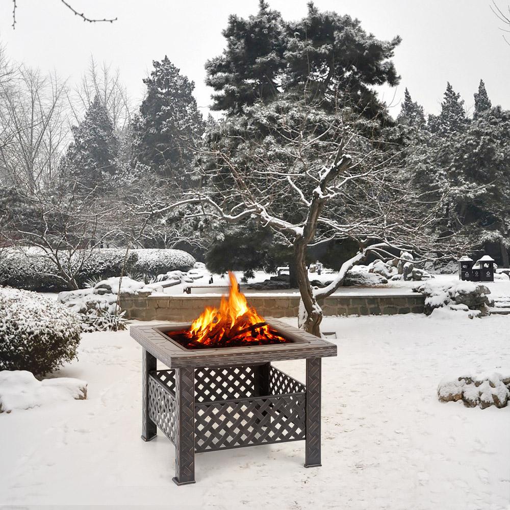 Sólo 56.61€, iKayaa de alta calidad del jardín del metal del patio ...