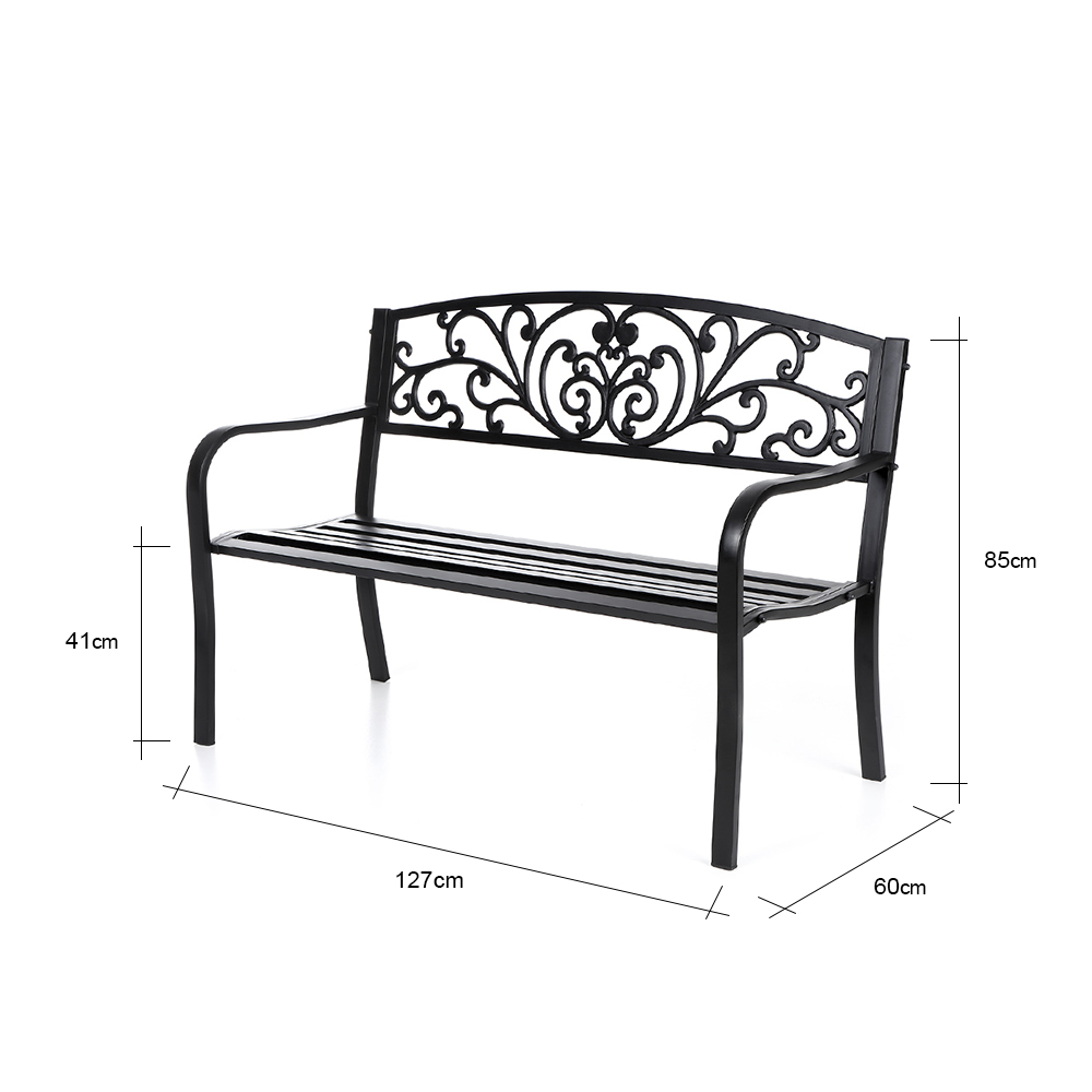 S lo ikayaa 50 cast banco de hierro al aire libre for Avvolgere intorno al costo del portico