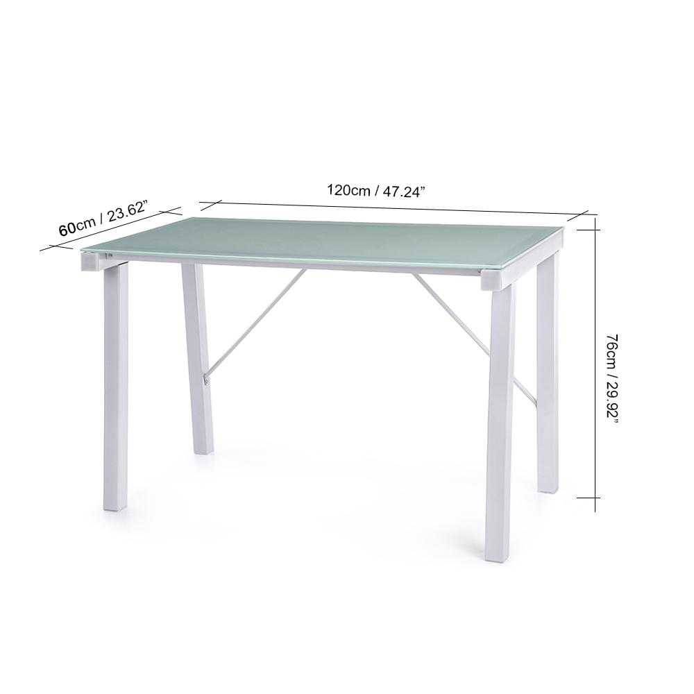Nur 60.26€, iKayaa Moderne Büromöbel Computer-Schreibtisch - LovDock.com