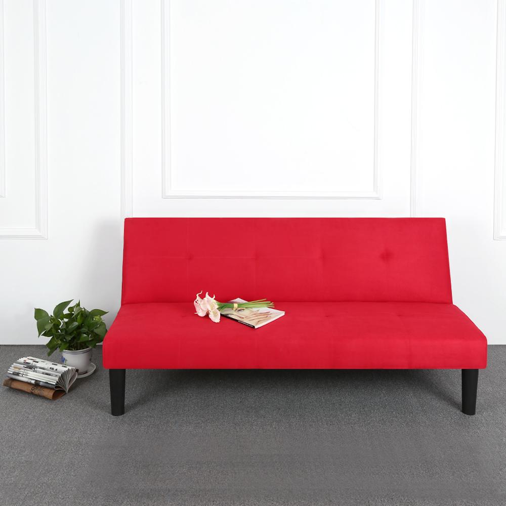 Sólo 264.59€, Contemporánea de microfibra futón sofá cama litera ...