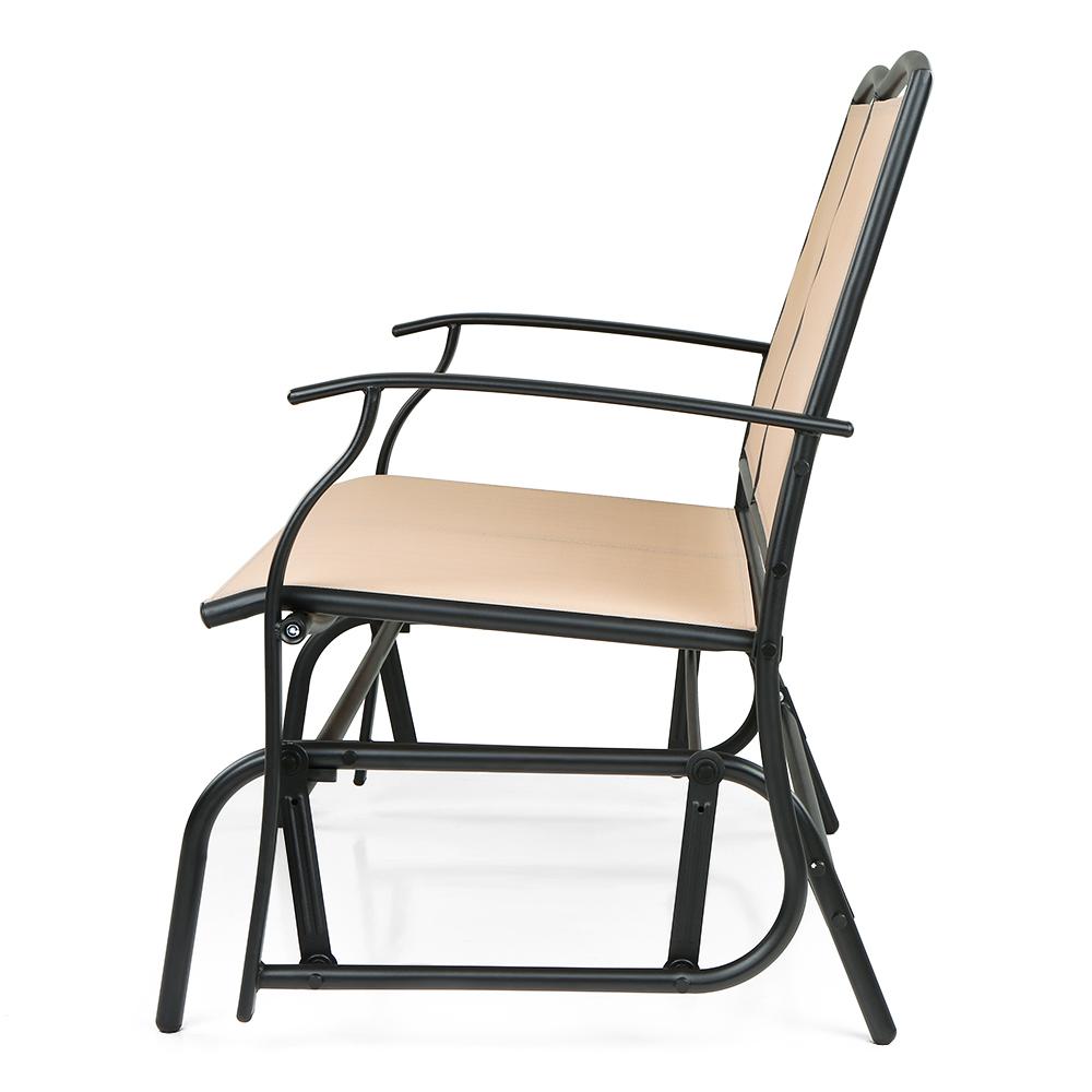 only ikayaa 2 personne patio balan oire planeur chaise de banc. Black Bedroom Furniture Sets. Home Design Ideas