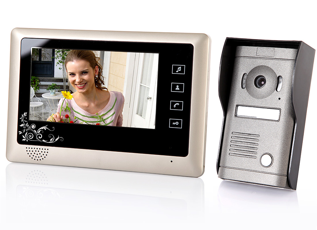 7  TFT LCD Home Security Monitor Video Door Phone Doorbell Intercom System  sc 1 st  kkmoon.com & 7