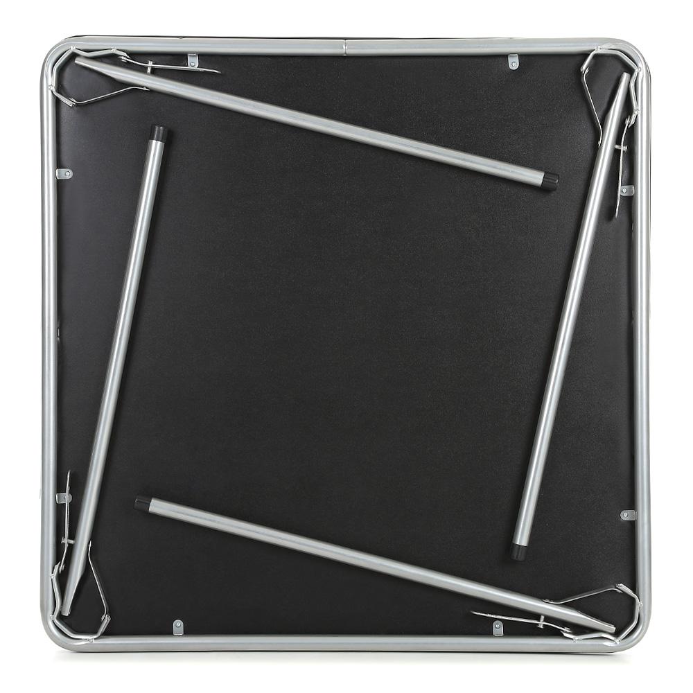 Sólo 57.46€, iKayaa 5PCS metal plegable de cocina Mesa de comedor ...