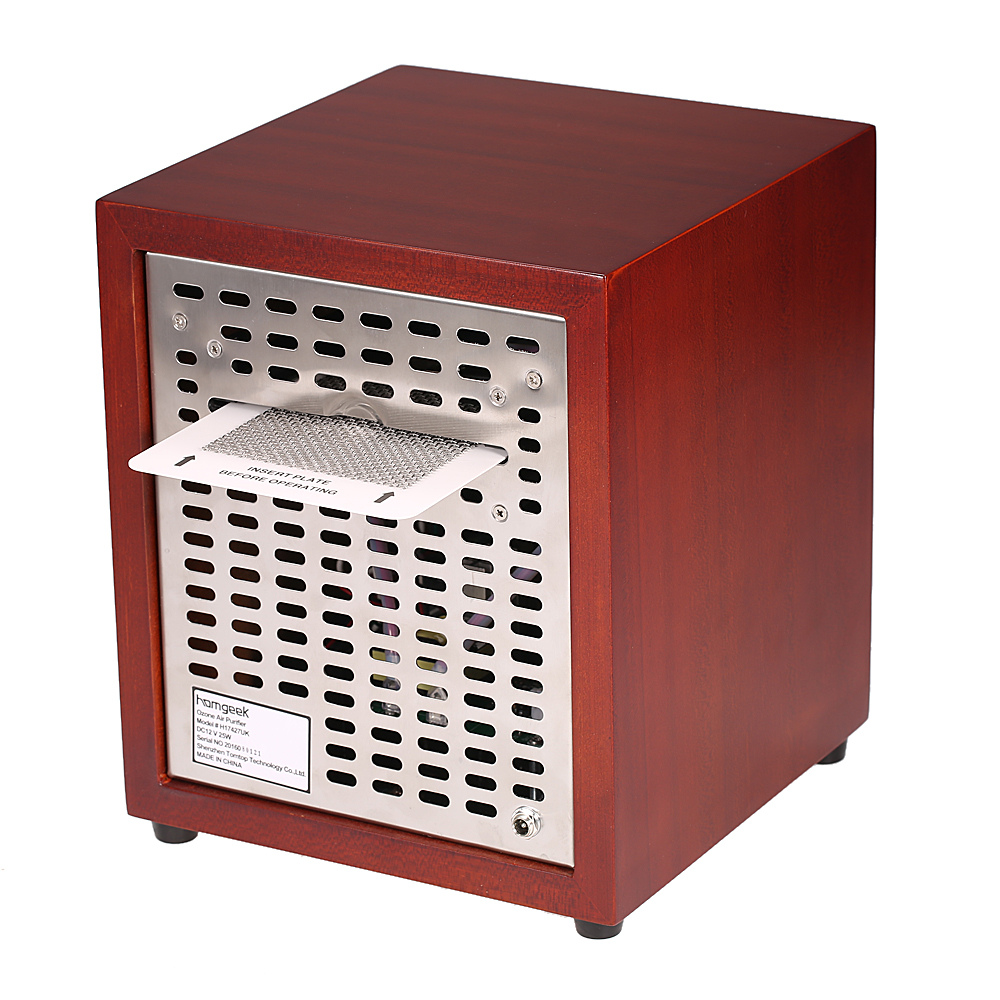 red homgeek 3500sq ft air purifier ozone generator. Black Bedroom Furniture Sets. Home Design Ideas