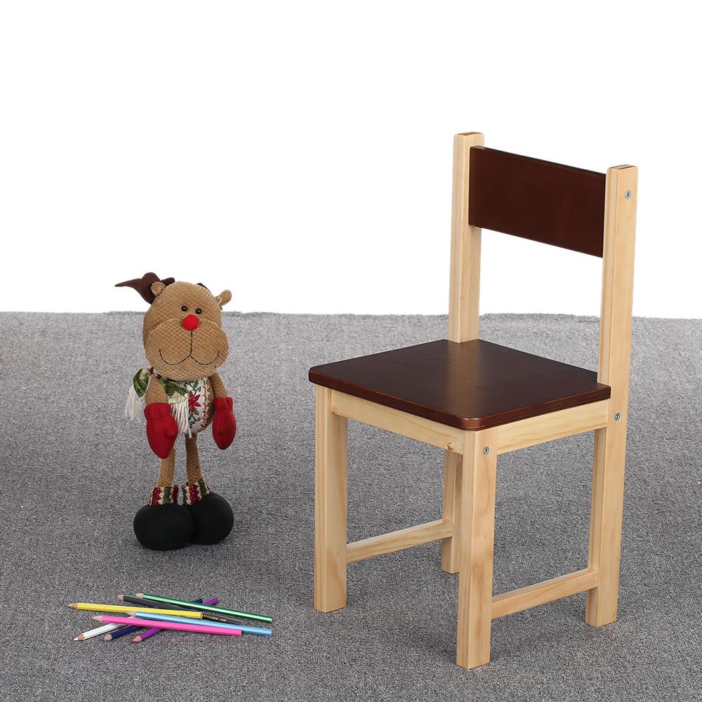 Interougehome petite chaise color e en bois pour enfants for Chaise bois coloree