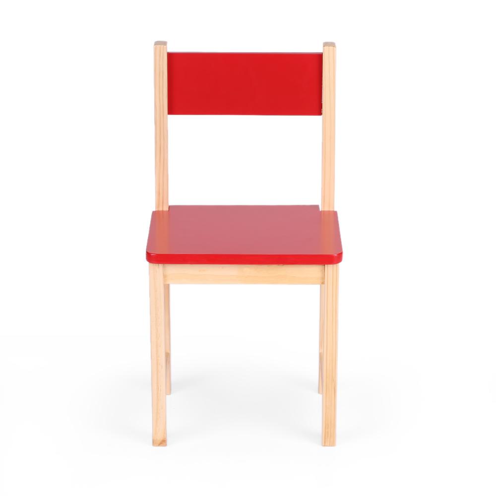 interougehome petite chaise color e en bois pour enfants. Black Bedroom Furniture Sets. Home Design Ideas