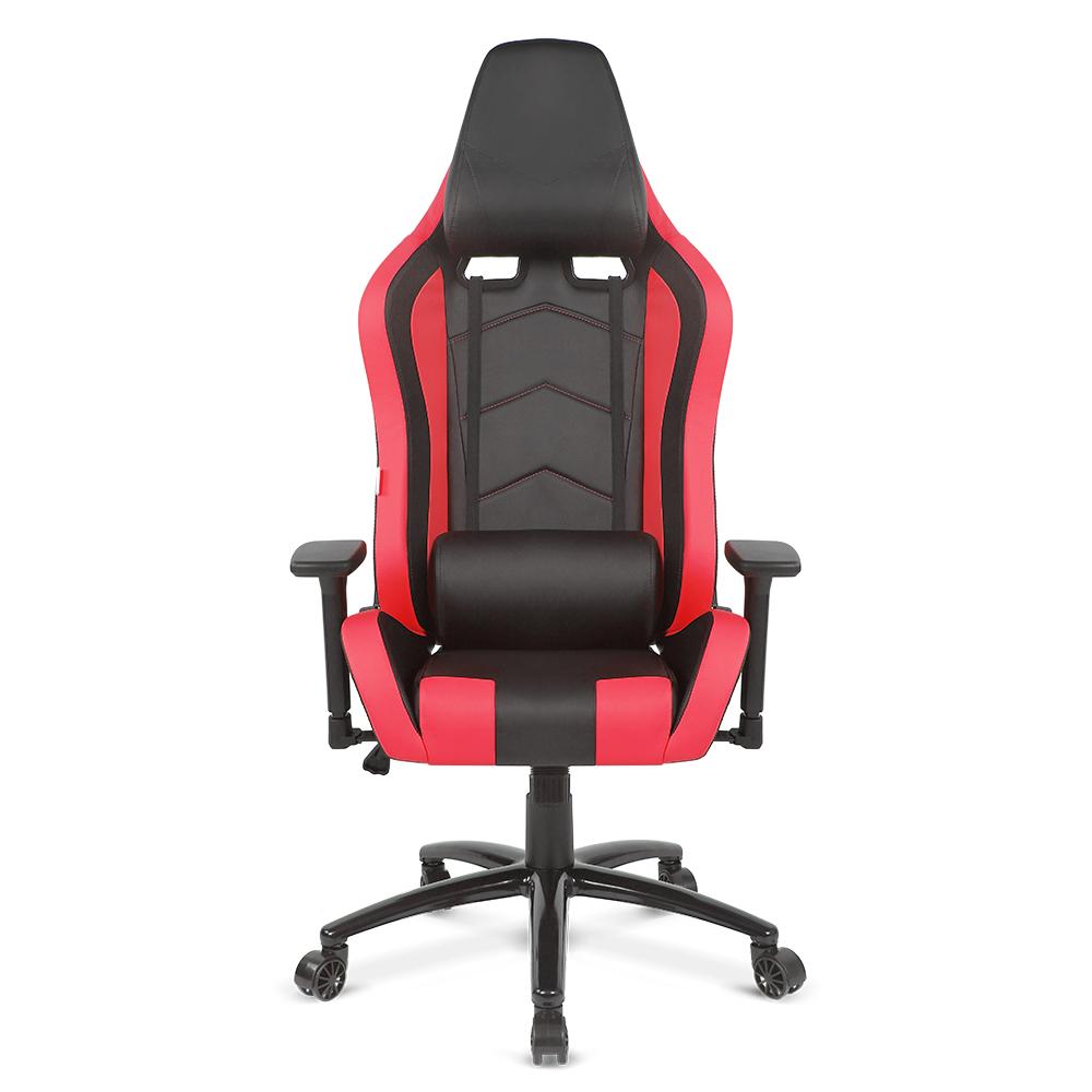 Red Ikayaa Ergonomic Racing Gaming Office Computer Desk