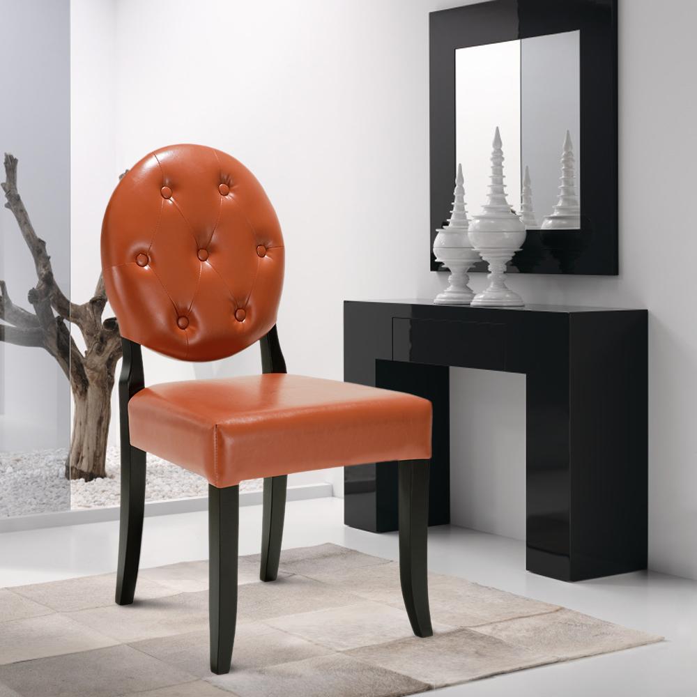 Ikayaa style classique et antique chaise de cuisine tuft for Chaise salon contemporaine