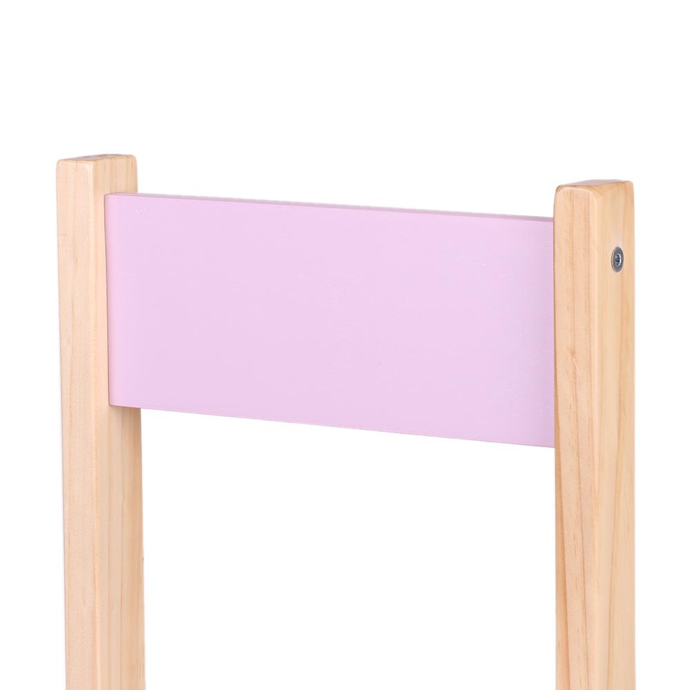 IKayaa Wooden Stackable Kids Toddler School Chair