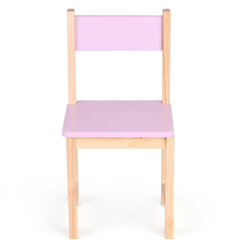 Interougehome petite chaise color e en bois pour enfants - Chaise enfant en bois ...
