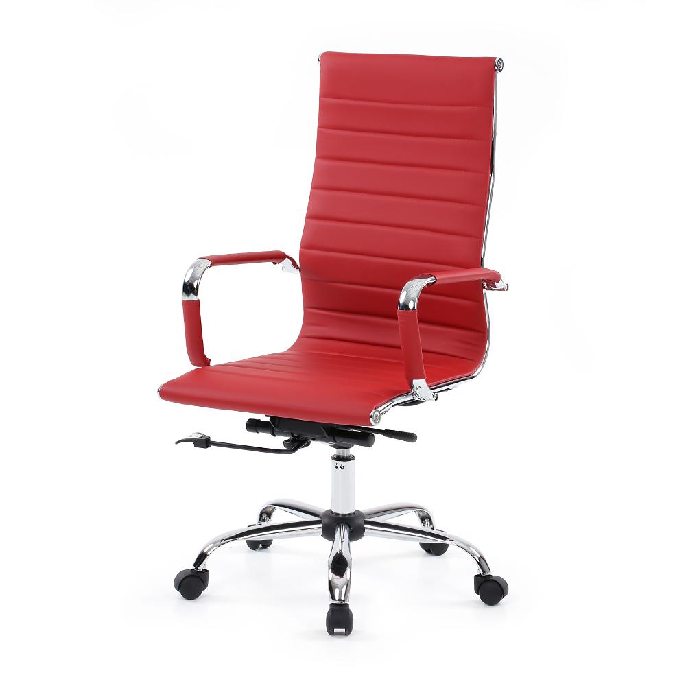 burgundy ikayaa luxury ergonomic pu leather office executive