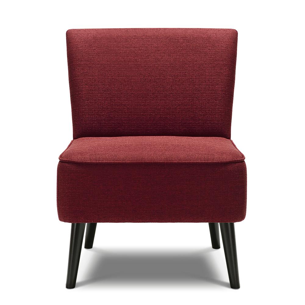 fauteuil contemporain large assise rouge bordeaux interougehome h17015fr. Black Bedroom Furniture Sets. Home Design Ideas