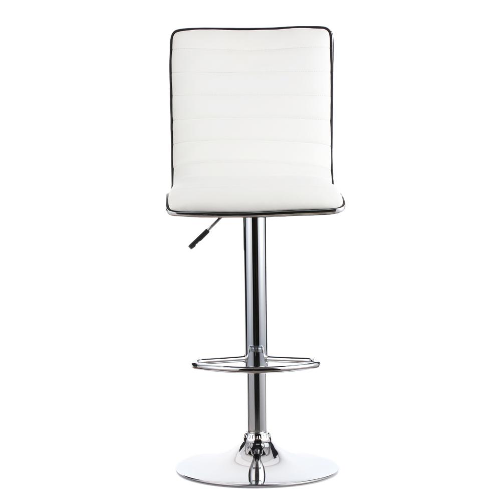ikayaa 2pcs jeu de 2 pu bar cuir pneumatiques tabourets chaises hauteur ajustable contre pub. Black Bedroom Furniture Sets. Home Design Ideas