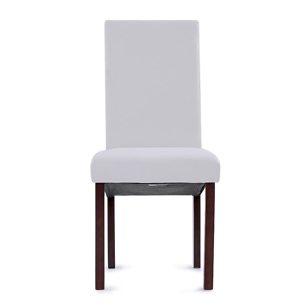 Sólo 67.99€, iKayaa 2PCS / Set de 2 Modern Faux sillas de cuero de ...