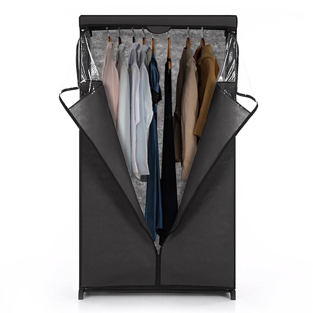 Nur 20.18€, iKayaa Klassische Zip Up Stoff Schrank Kleidung ...