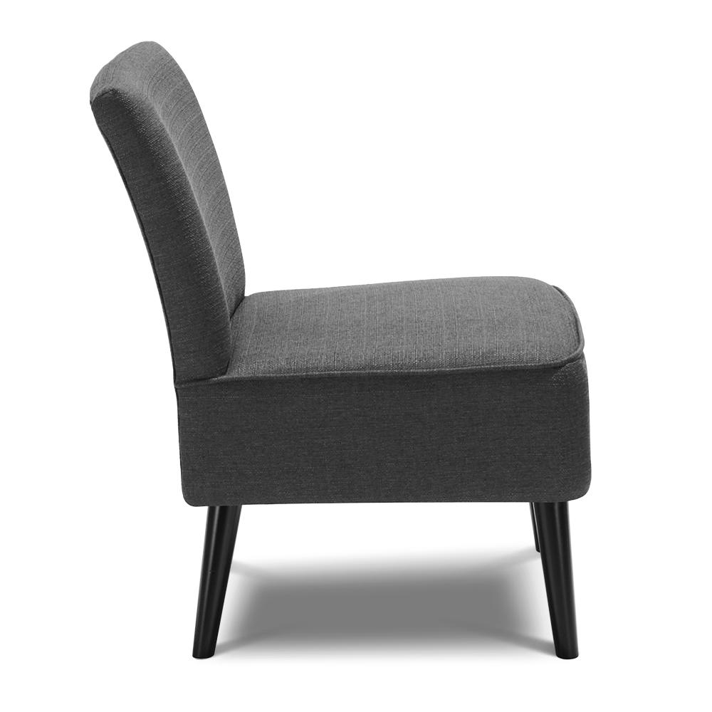 fauteuil contemporain large assise gris interougehome h17015fr. Black Bedroom Furniture Sets. Home Design Ideas