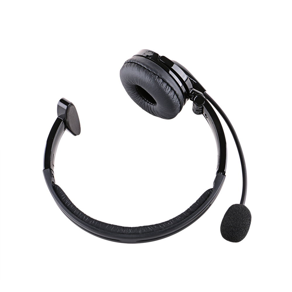 f76b6a39795 KKmoon Over The Head Boom Mic BT Noise-Canceling Headset For Trucker Drivers  2018 New