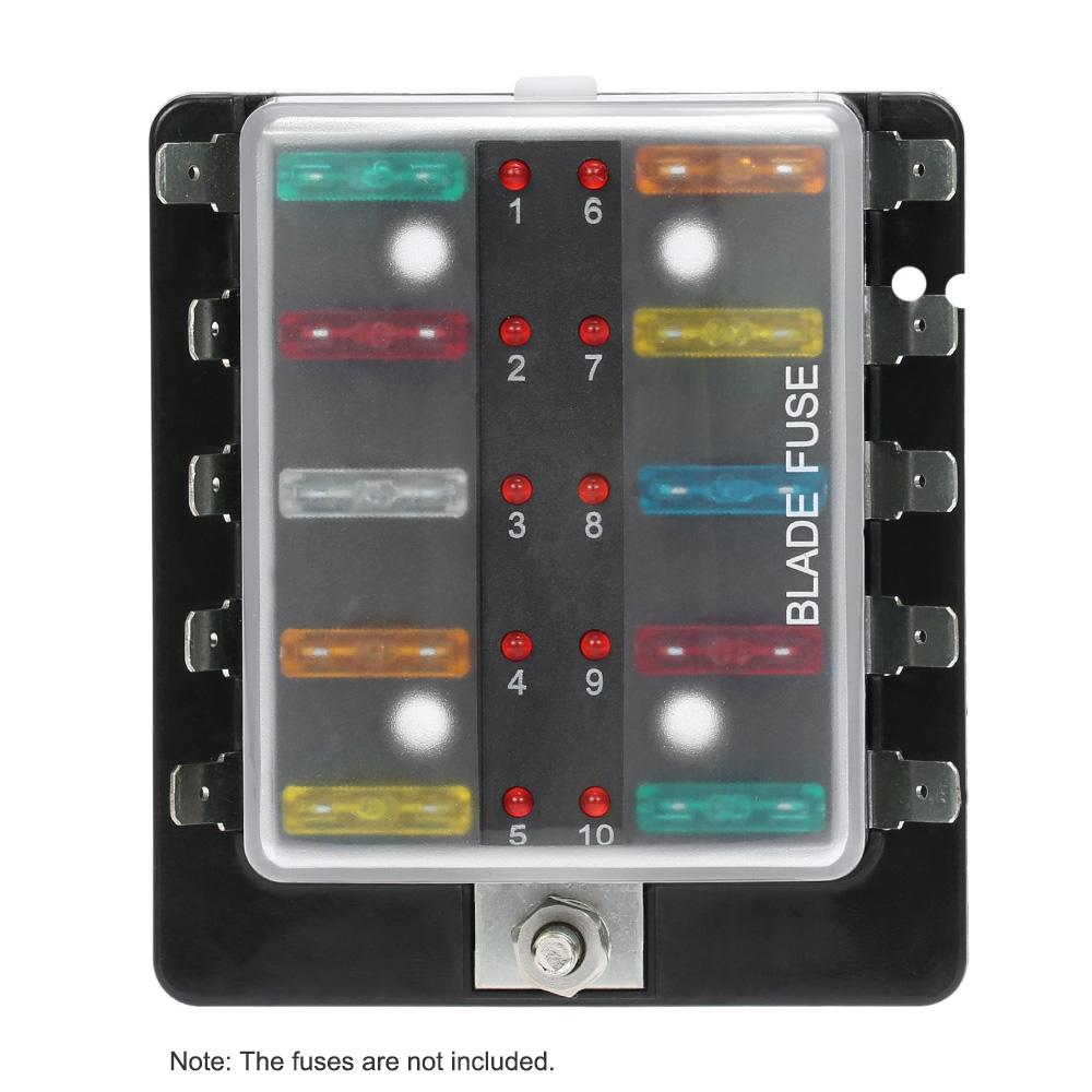Car Fuse Box Purpose Buy At Amazon