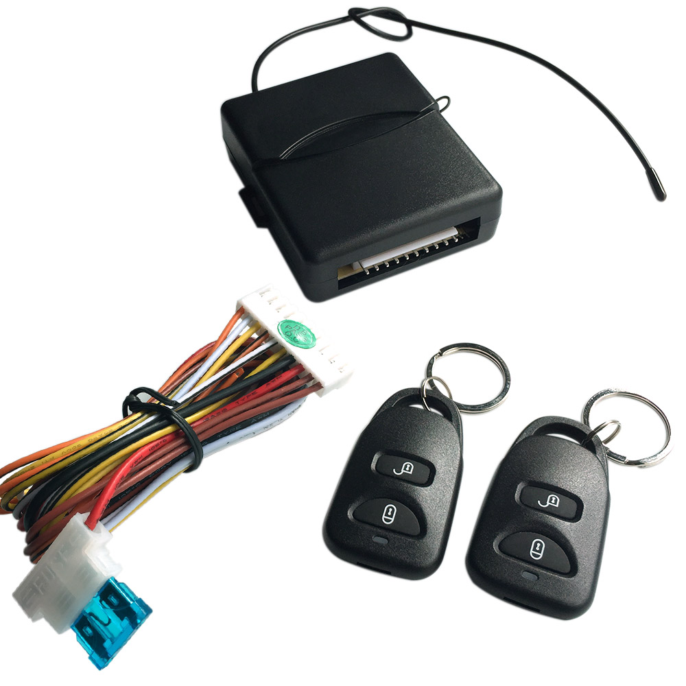 Remote Central Locking Kit Wiring Diagram Kkmoon Car Lock Keyless Entry System With Controllers