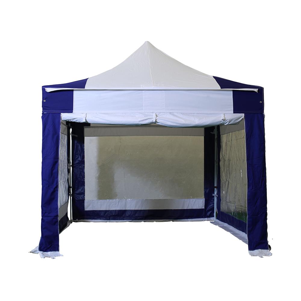nur wei und blau komplettset faltpavillons 3x3 m alu 40 polyester wasserdicht. Black Bedroom Furniture Sets. Home Design Ideas