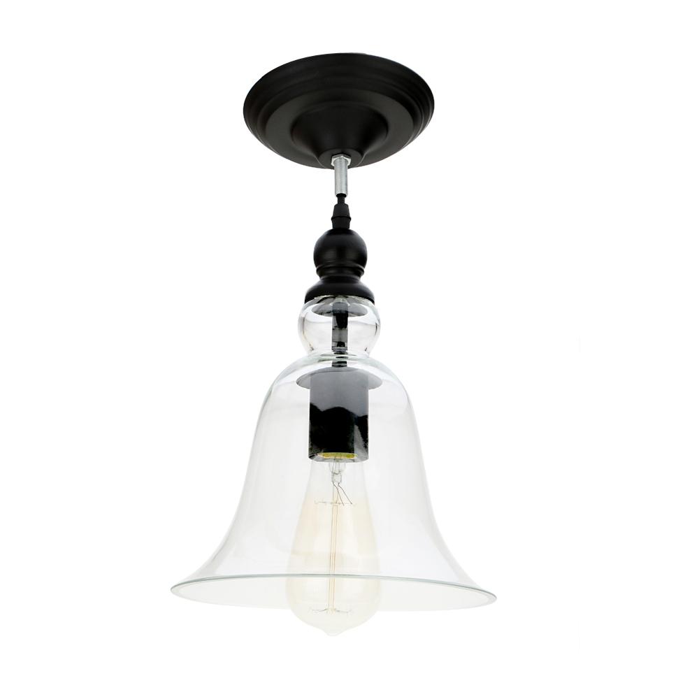 Lixada Vintage Retro Pendant Lamp Light E27 Bulb Loft Antique for ...