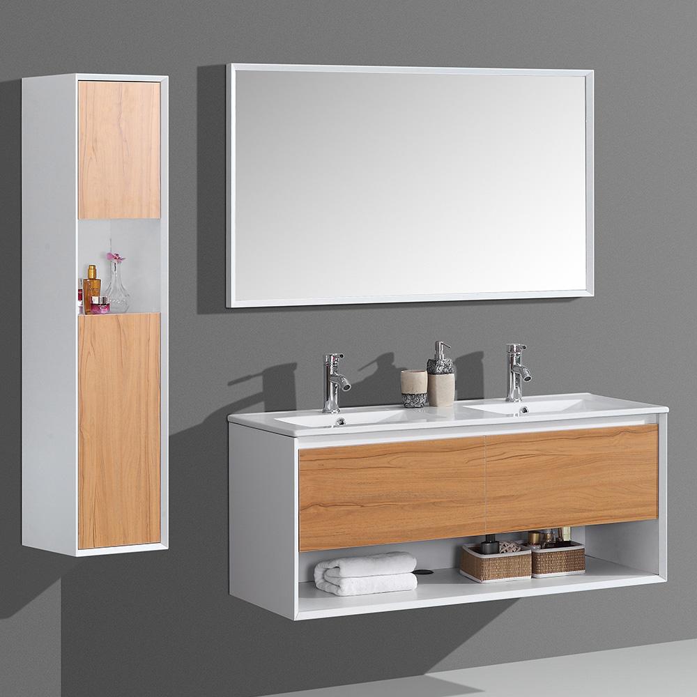 ensemble de meubles de salle de bain double vasque aloa. Black Bedroom Furniture Sets. Home Design Ideas