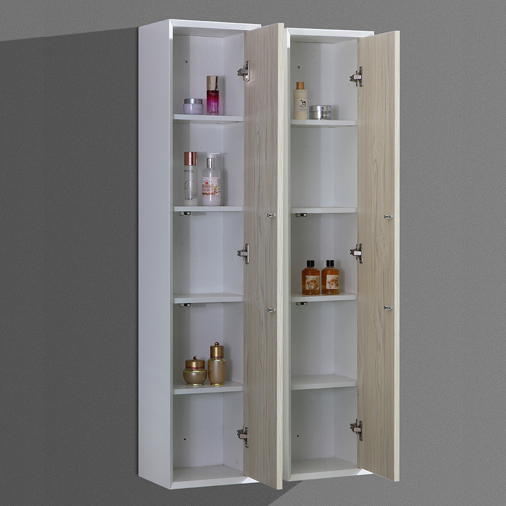 Meuble de salle de bain aloa suspendu avec double vasque for Meuble salle de bain double vasque et colonne