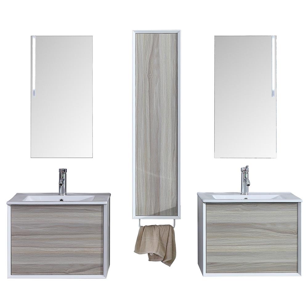 d s meuble salle de bain avec colonne de. Black Bedroom Furniture Sets. Home Design Ideas