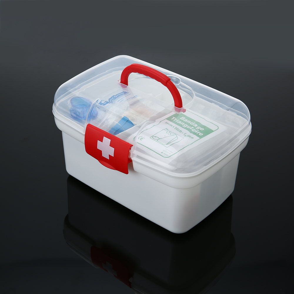129pcs All Purpose First Aid Kits Box Outdoor Emergency Organizer Fda Approved