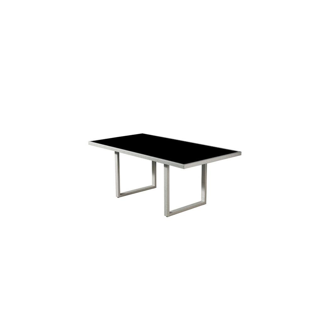 Ensemble table et 6 fauteuils de jardin dolceza en r sine for Ensemble table fauteuil jardin