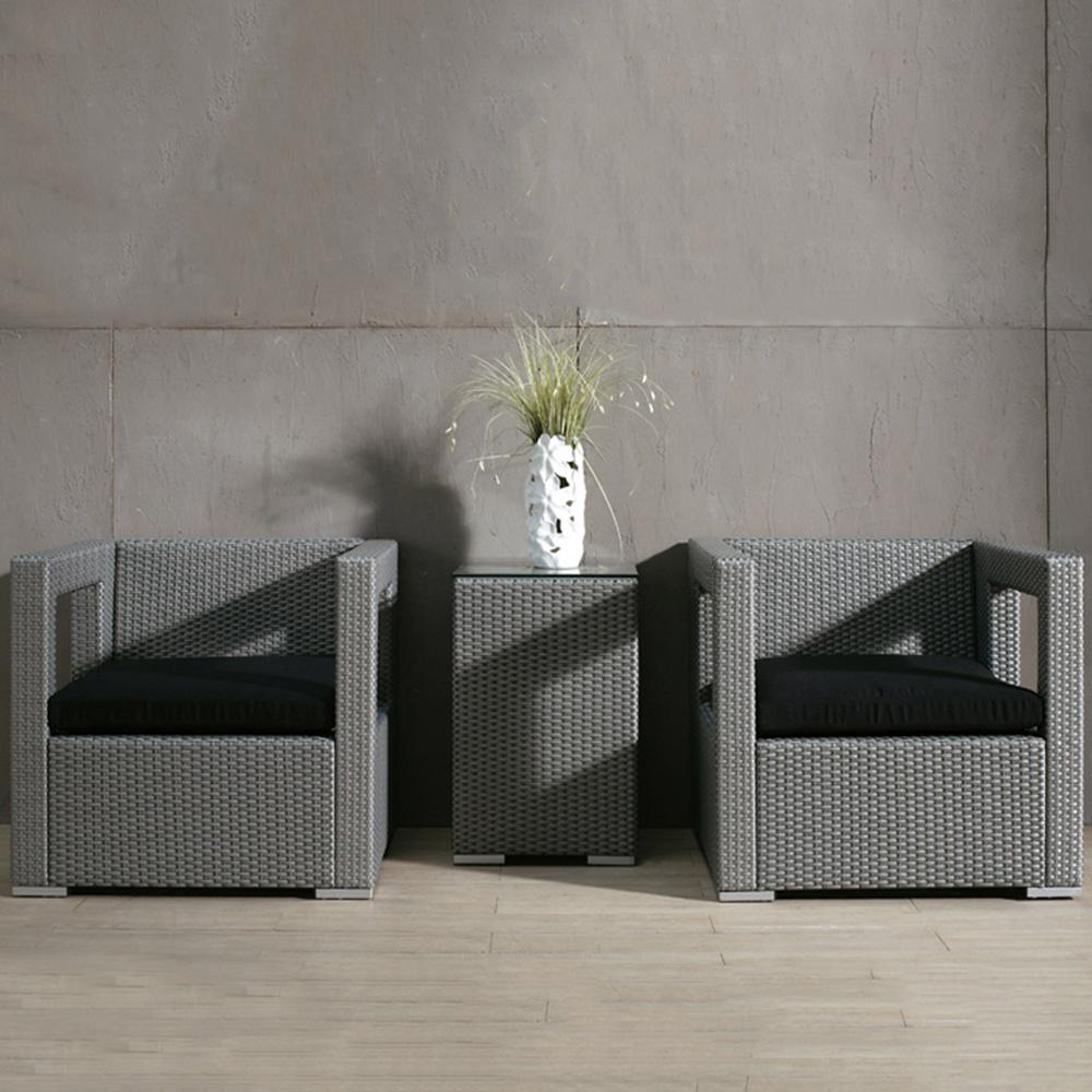 Salon de jardin rilasa fauteuil de jardin en r sine tress e for Acheter salon de jardin en resine tressee