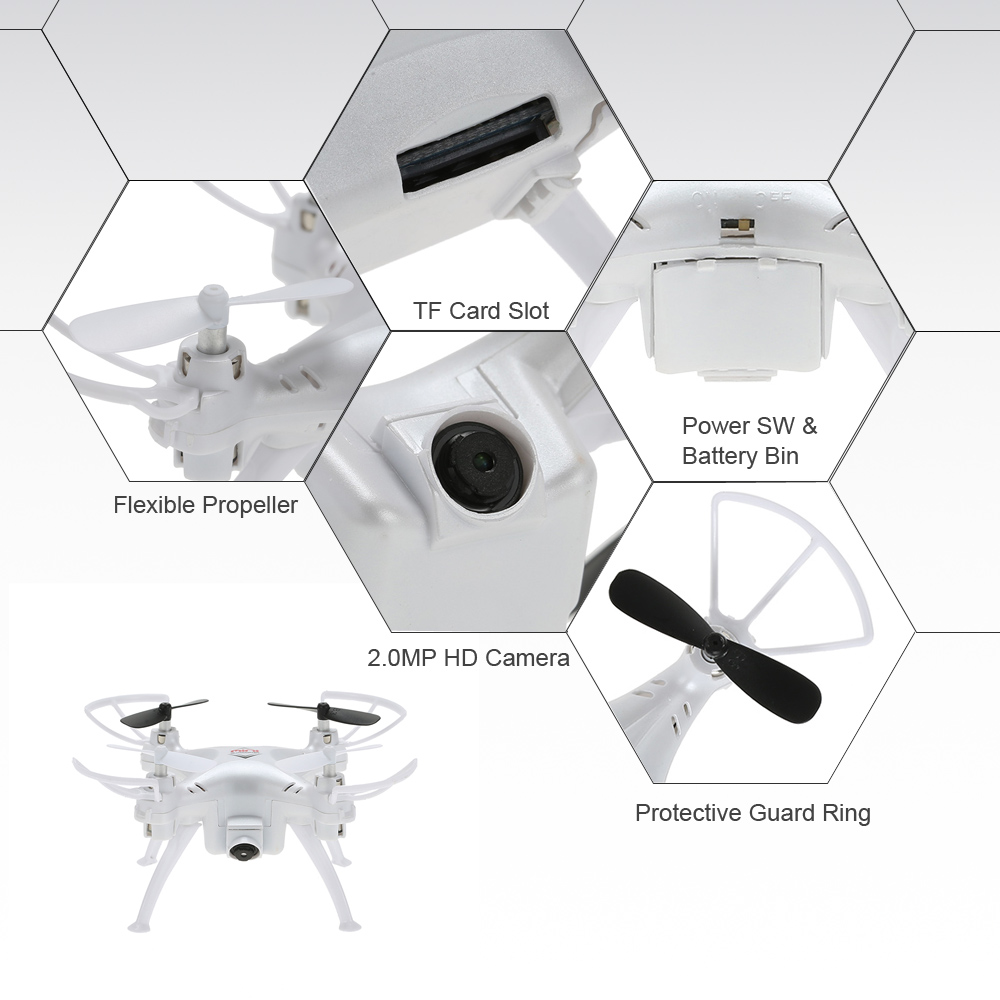 Original Skytech TK106 2.4G 4CH 6-Axis Gyro Mini Drone 2.0MP Camera ...