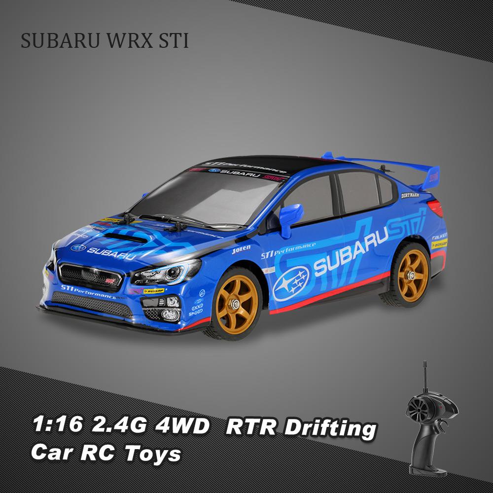 Original HRC 8008-G 1:16 2.4G 2CH 4WD SUBARU WRX STI RTR Drifting ...