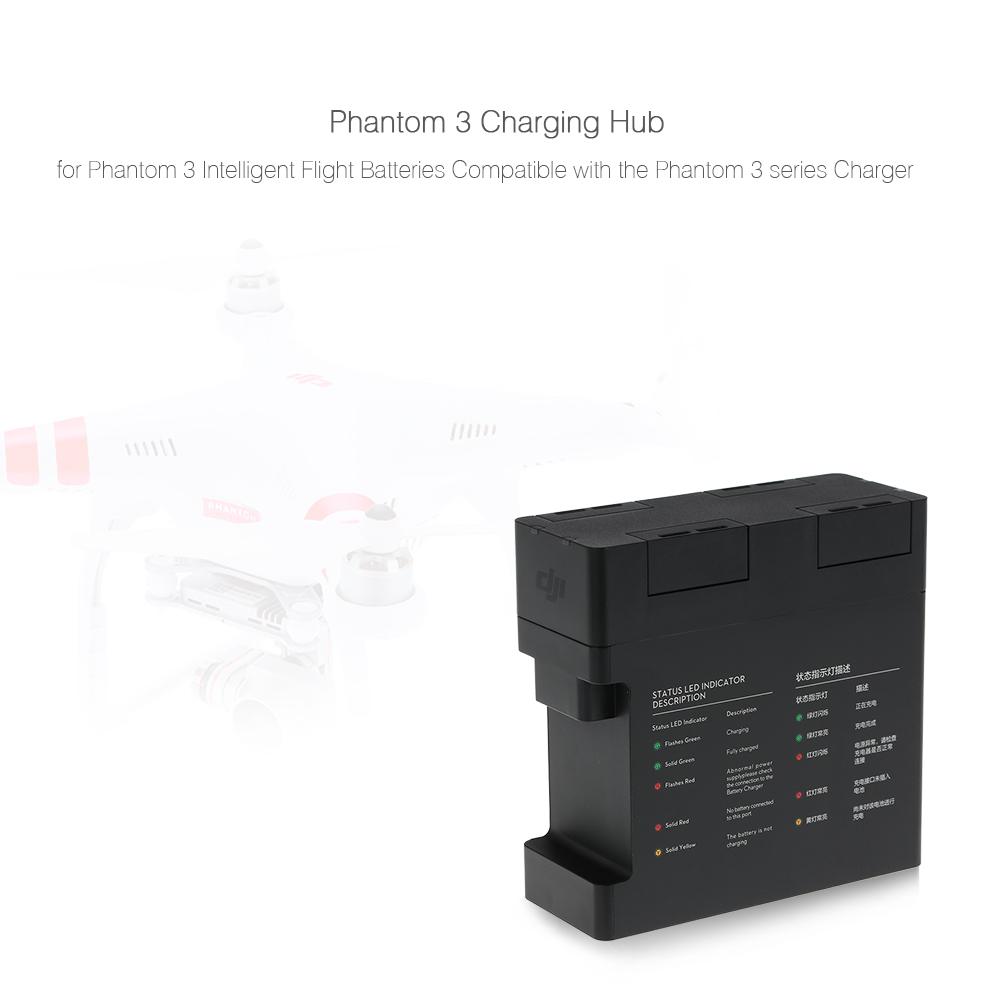 Original Dji Phantom 3 Part 53 Intelligent Battery Charging Hub For 4 Standard Professional Advanced
