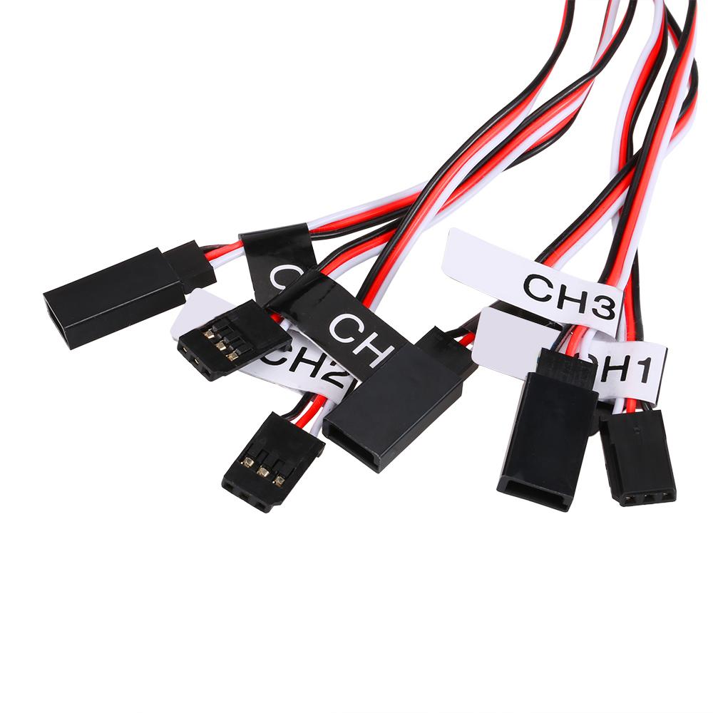 12 Led Lighting System Kit Steering Brake Smart Simulation Flash Circuit Board Kits Lights For 1 10 Scale Models Rc Car Yokomo Tamiya Hsp Hpi Axial Rc4wd Traxxas