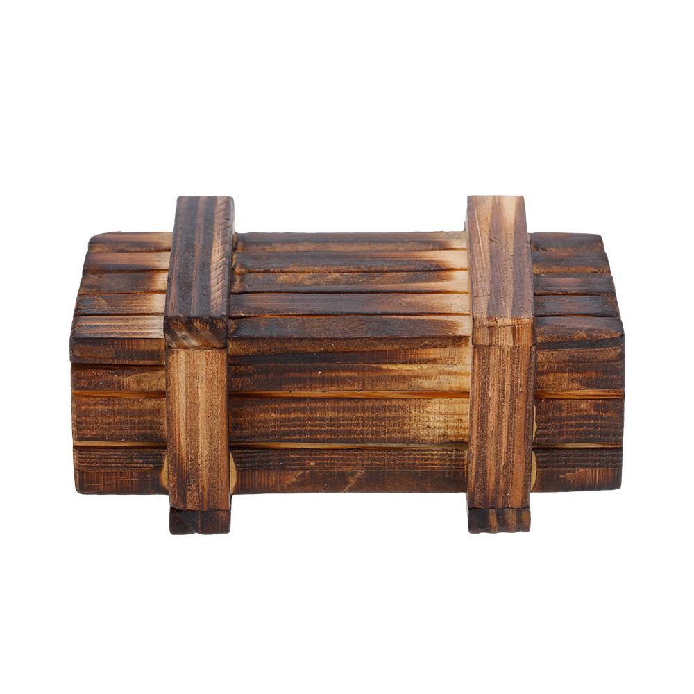 Decoraci n de caja de madera accesorios piezas para 1 10 for Accesorios de decoracion