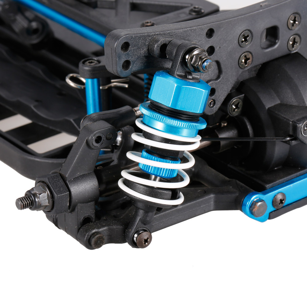 1 10 4 roues motrices lectrique sur route drift racing car frame kit ch ssis. Black Bedroom Furniture Sets. Home Design Ideas