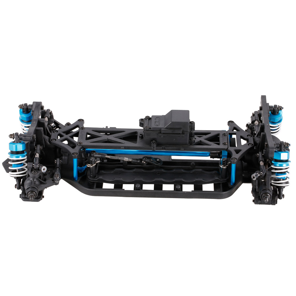1/10 4WD Electric On-Road Drift Racing Car Frame Kit Chassis ...