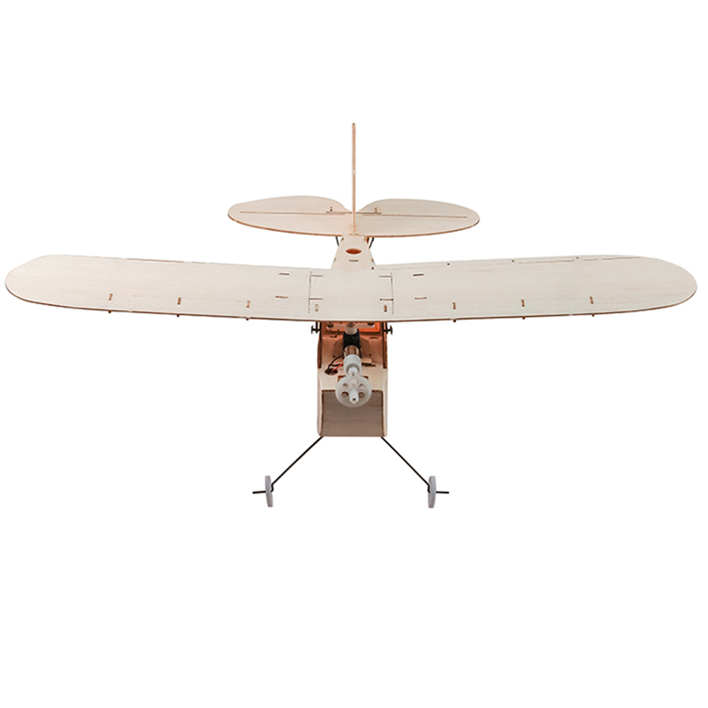 Galileo Balsawood 316mm Wingspan Biplane Warbird Aircraft Light Wood  Airplane Kit w/ EPS7 Brushed Motor 5030 Prop - Rcmoment com