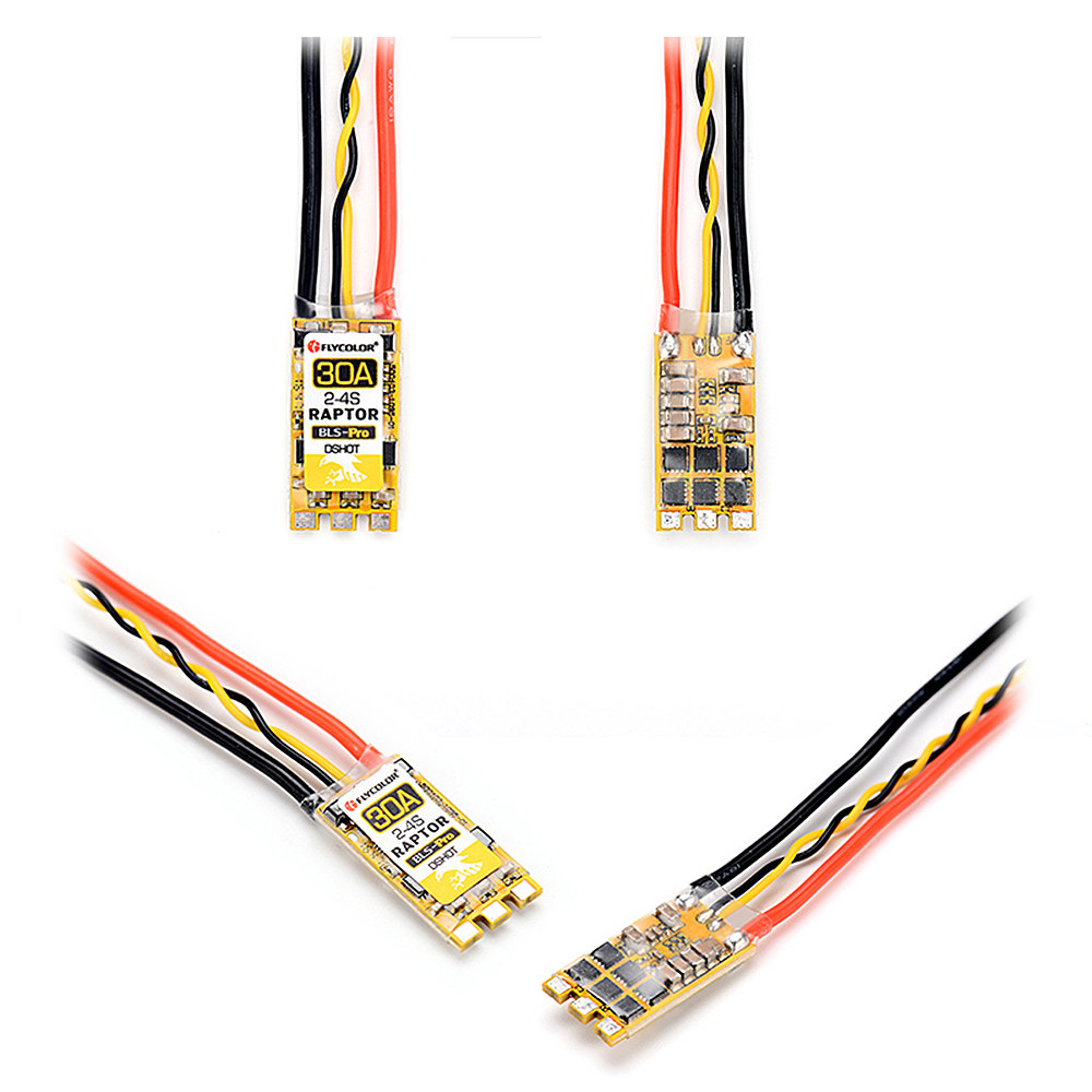 #1 Flycolor Raptor BLS-Pro 30A 2-4s Brushless ESC Electronic Speed  Controller for 170-330 Multirotors RC Drone- RcMoment com
