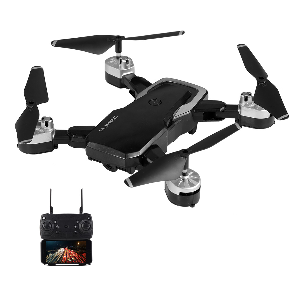 black1 HJHRC HJ28 RC Drone with Camera 720P Wifi FPV - RcMoment com