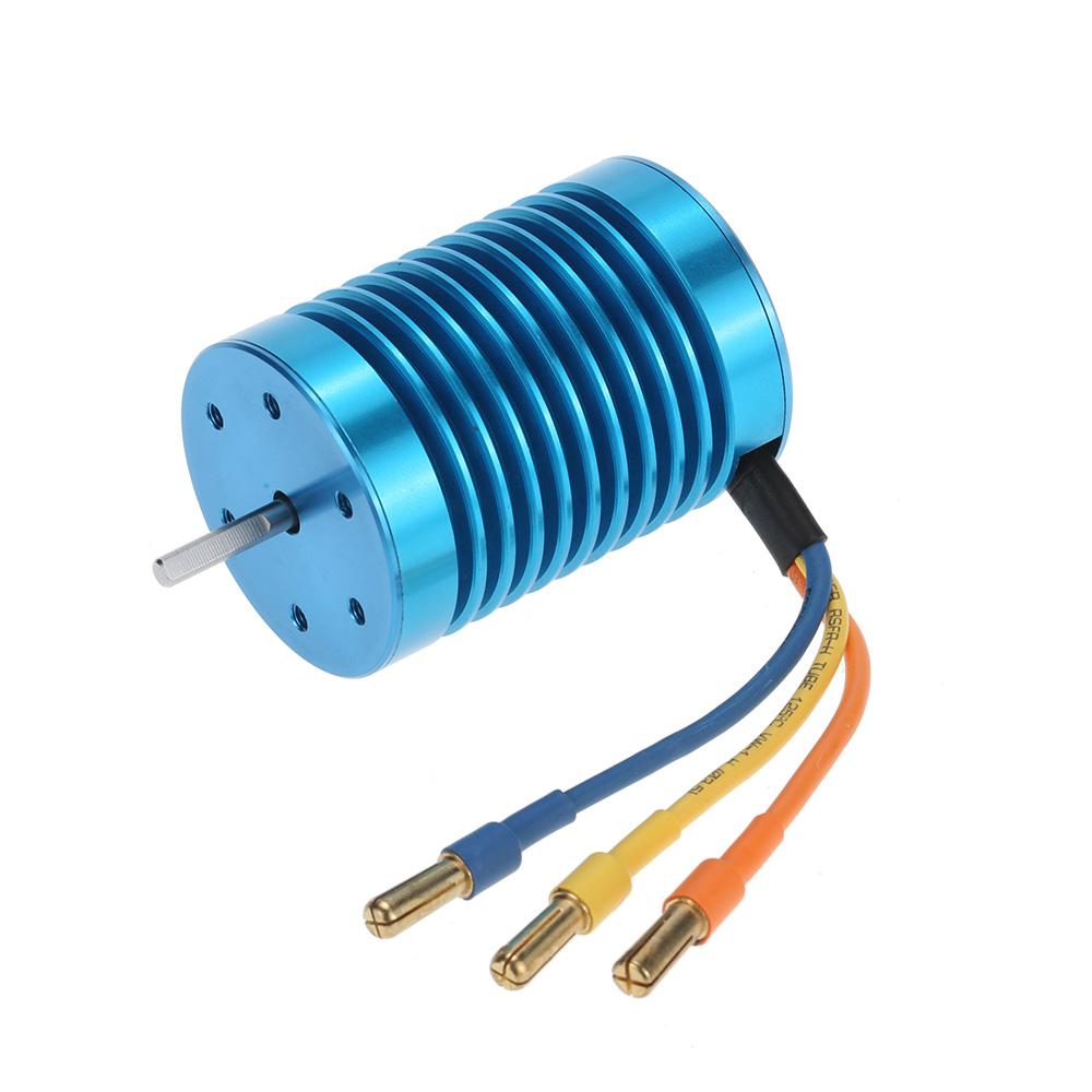 3650 3300KV/4P Brushless Motor & 45A Brushless ESC & LED Programming Card Combo Set