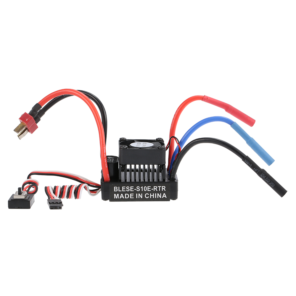 Waterproof 60a Brushless Esc Electronic Speed Controller With 6v 2a Australian Saa Power Cord Plug China Mainland Cords Bec For 1 10 Rc Car