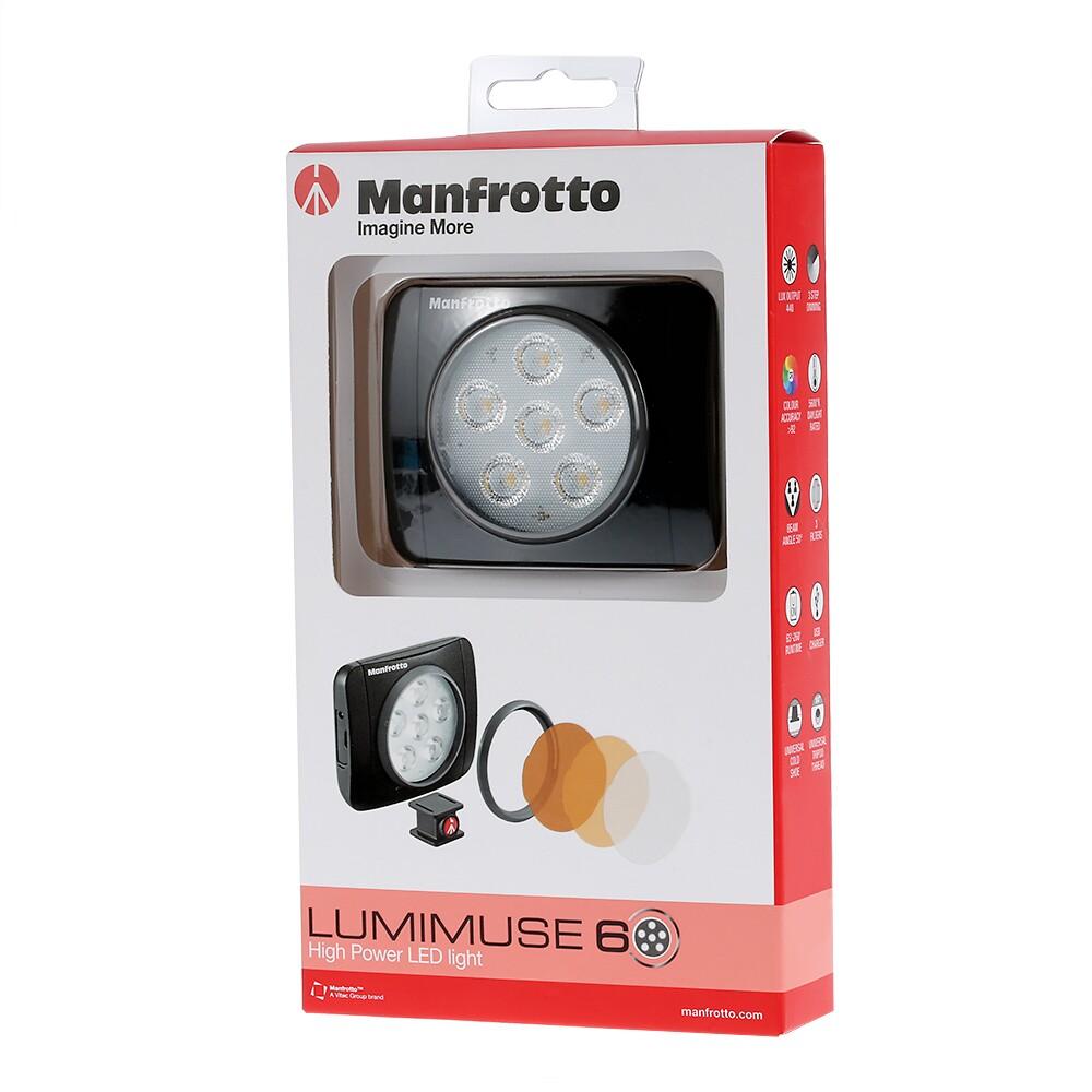 Original Manfrotto Lumie Led Art Led Light For Dji Osmo