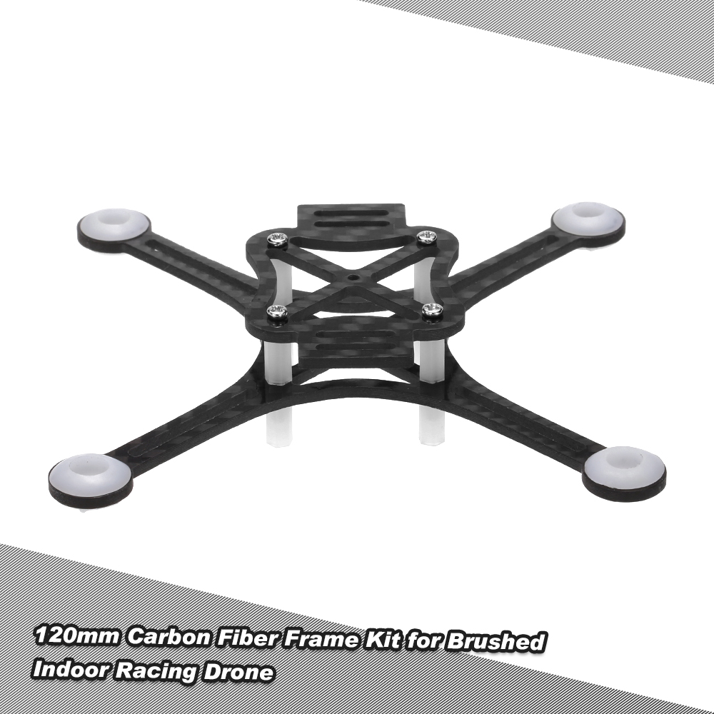 120mm Carbon-Rahmen-Kit für DIY Mikro FPV Racing Quadcopter ...