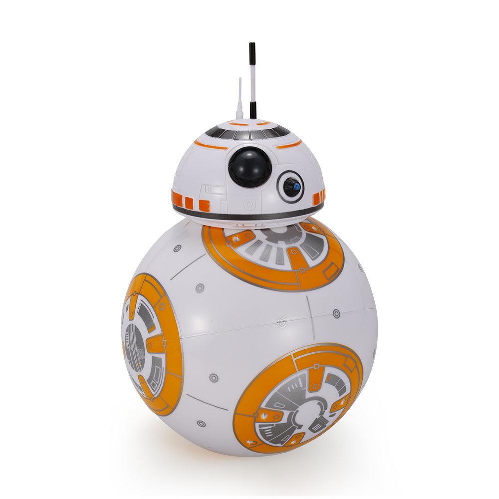 Bb 8 2 4 ghz rc robot ball control remoto planet boy con - Robot blanc star wars ...