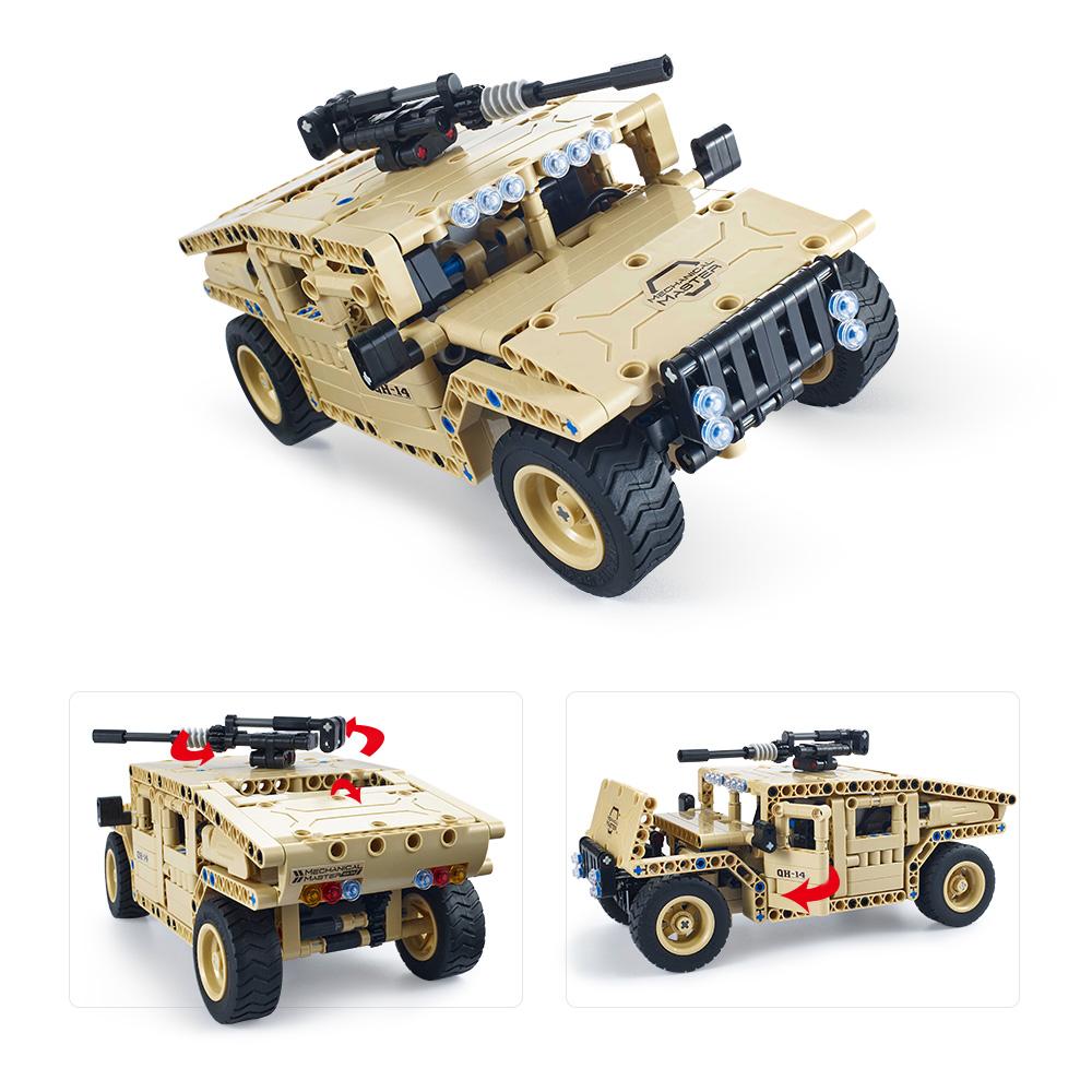 457Pcs Utoghter 69003 2 4G RC Uzbrojone pojazdy terenowe Zestawy Bloków  Pojazdów Zabawki Ramy RC Car Model - RcMoment com