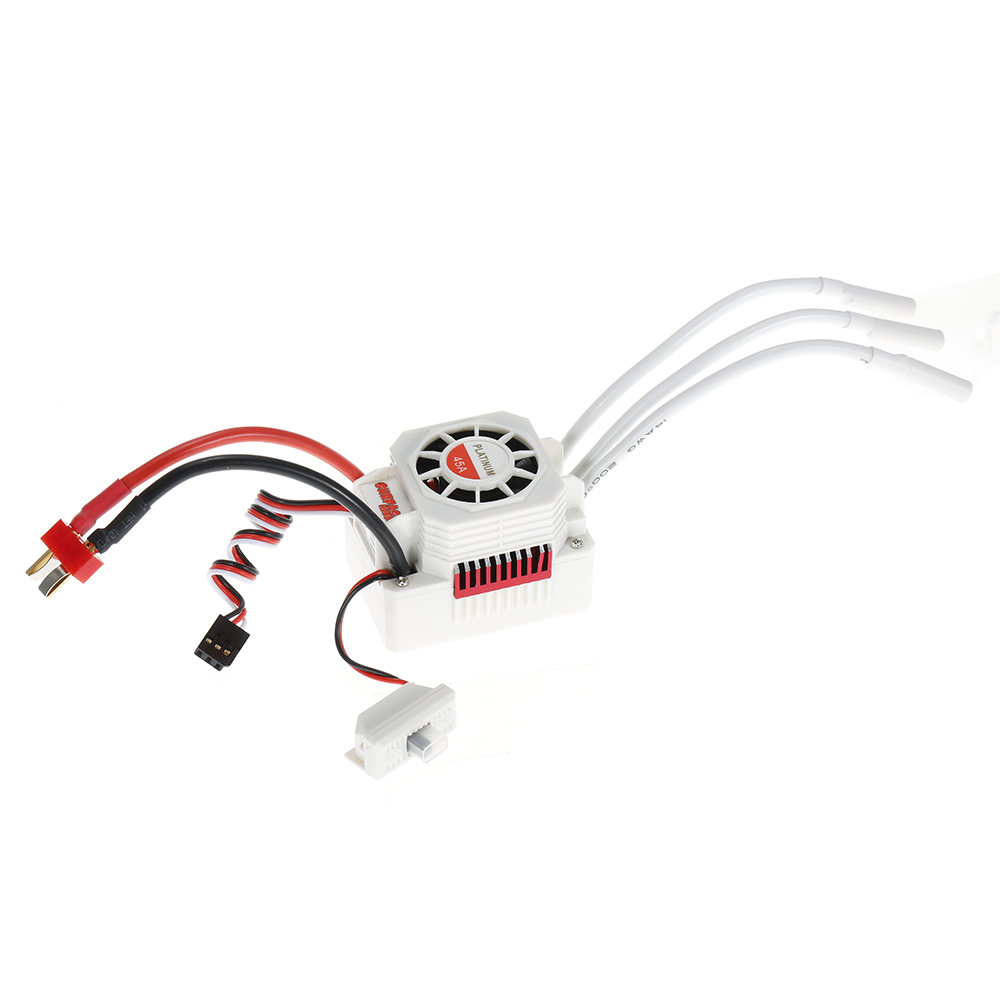 Surpass Hobby Platinum Set Waterproof F540 3930kv Brushless Motor Wiring With 45a Esc For 1 10 12 Rc Car Truck