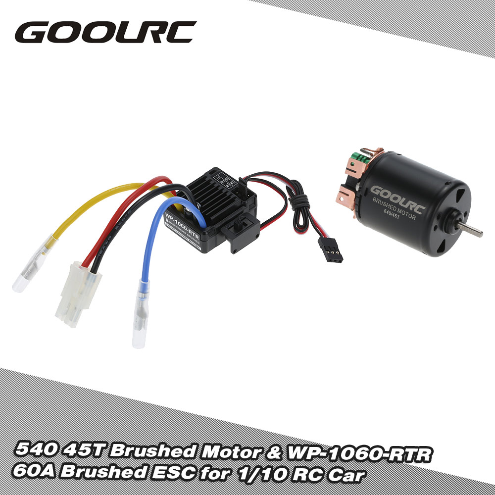 Brushed Motor Wiring Diagram Will Be A Thing Psc Repalcement Parts And Goolrc 540 45t 4 Poles Wp 1060 Rtr 60a Waterproof Rh Rcmoment Com Dc