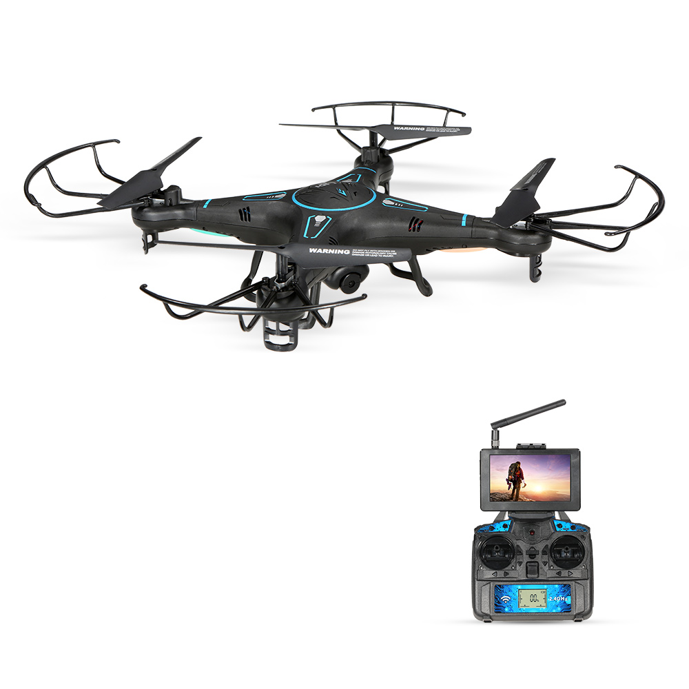 LiDi RC L20 5.8G FPV 2.4G 4CH 6-Axis Gyro RC Quadcopter ...